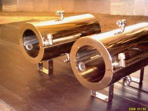 Polished Stainless Steel Chambers